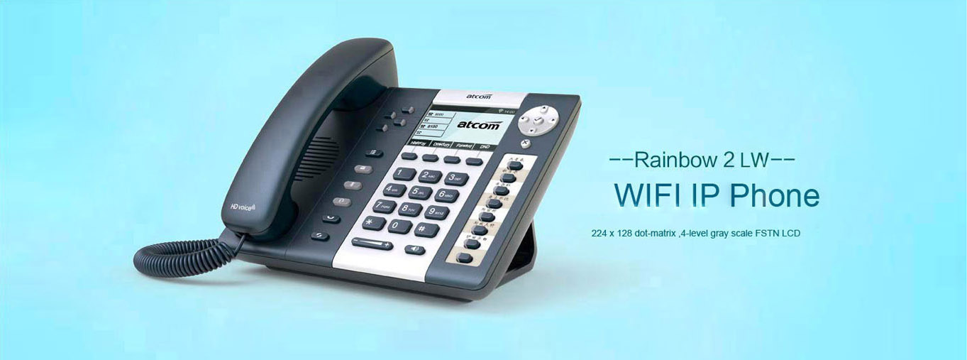 R2LW WIFI IP Phone - R series - Atcom_Ip phone,IP PBX