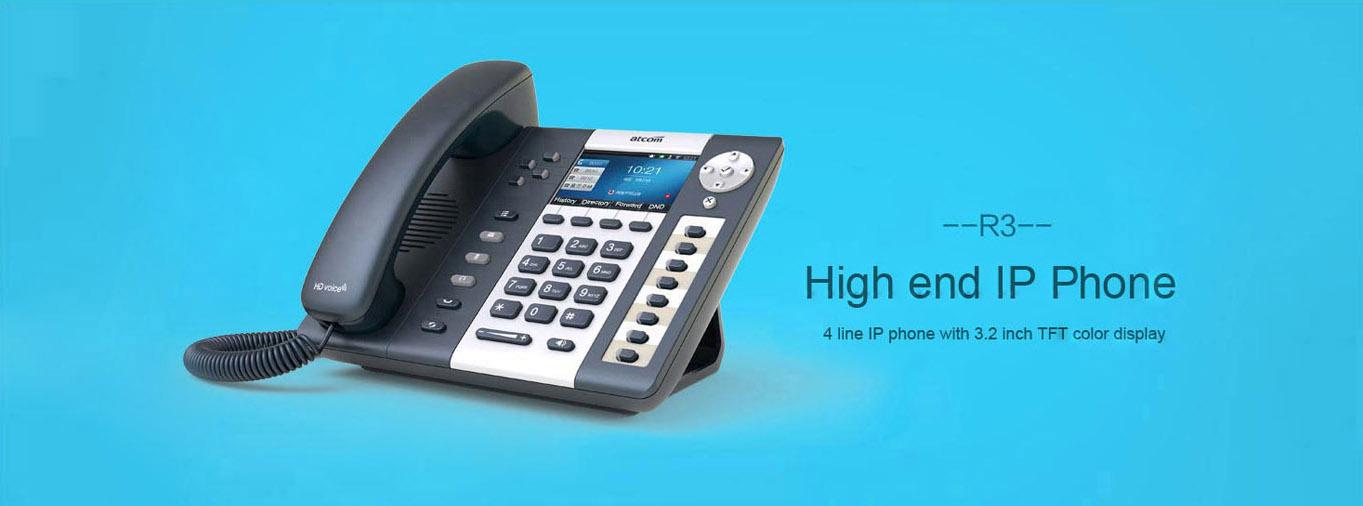 R3 High end IP Phone - R series - Atcom_Ip phone,IP PBX,Asterisk