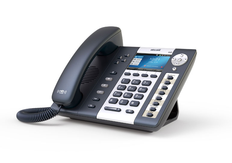 A48w Color Display Business Ip Phone Support Extension